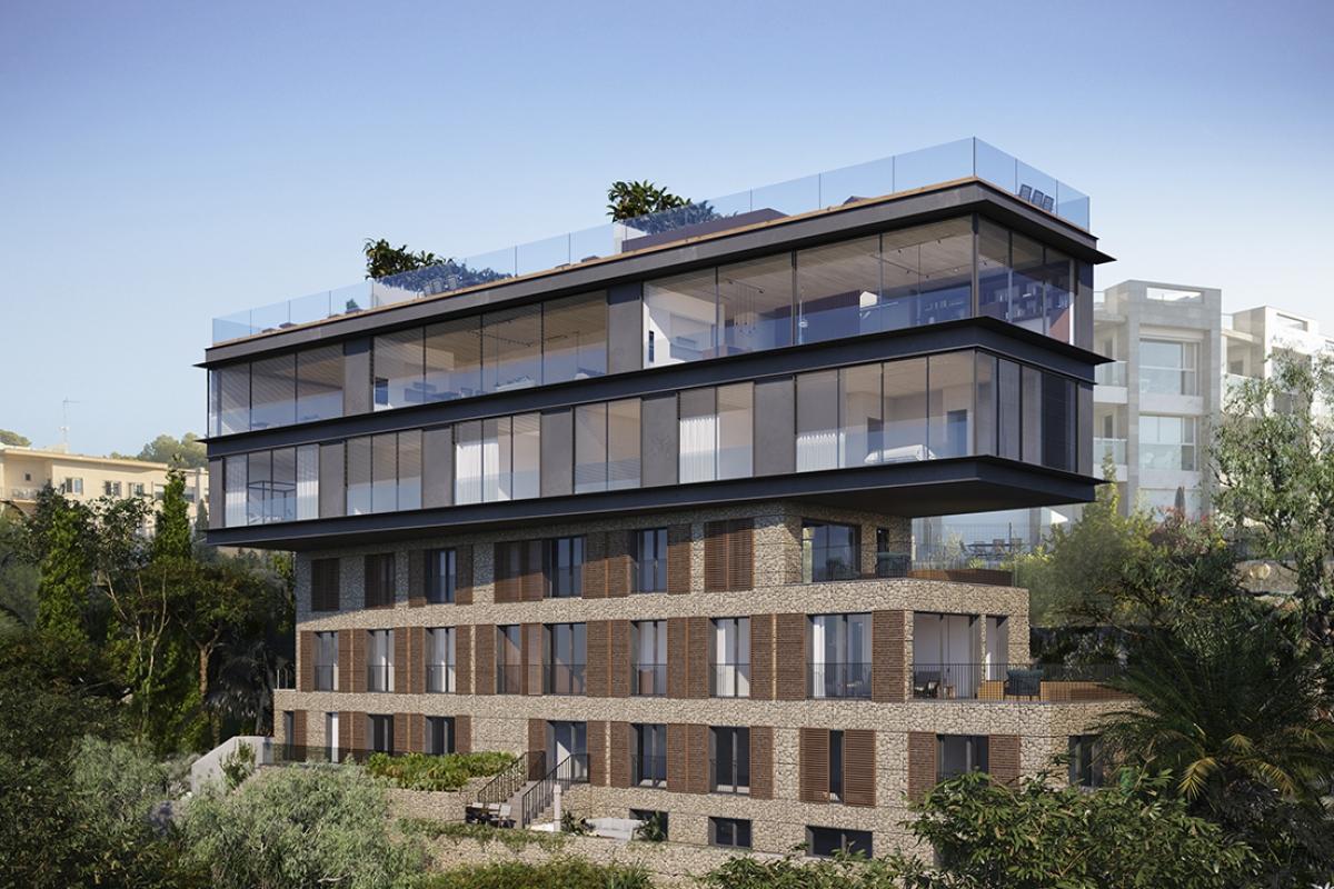 Render oficial de MRA Apartments